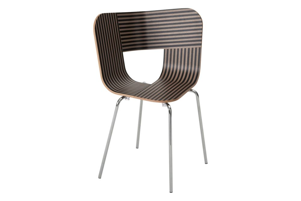 Tria Metal Legged Dining Chair by Colé Italian Design Label