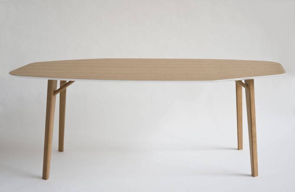 Tria Octagonal Table by Colé Italian Design Label