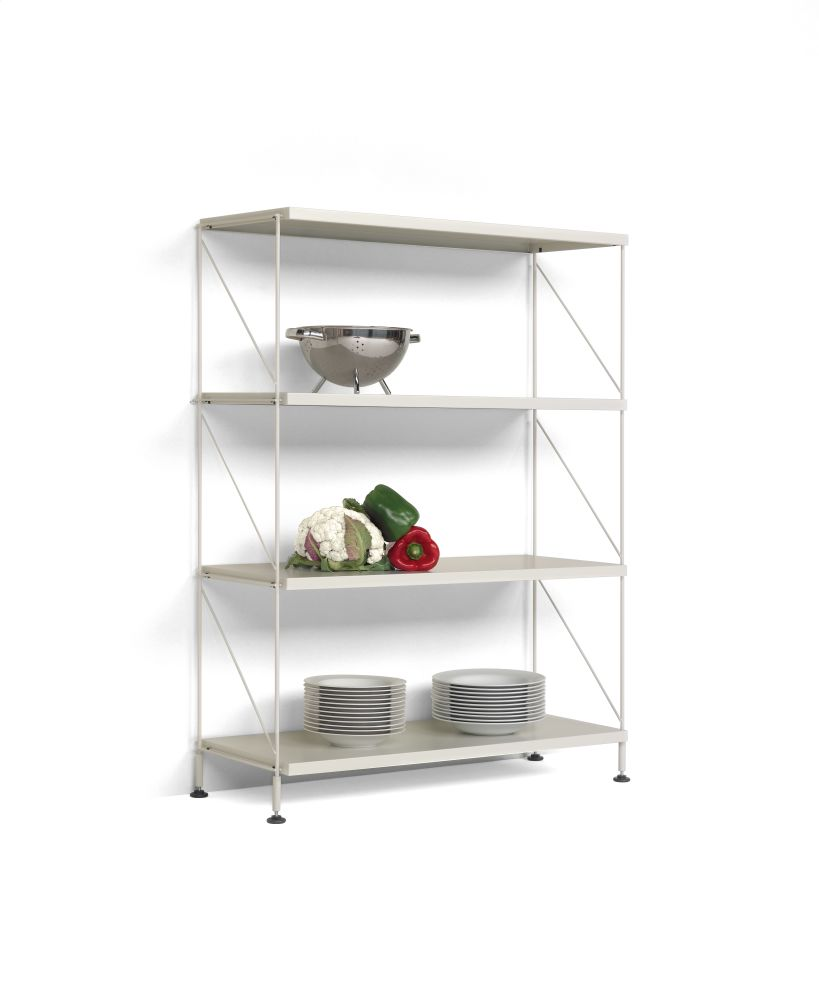 Tria Pack Floor Shelving System by Mobles 114