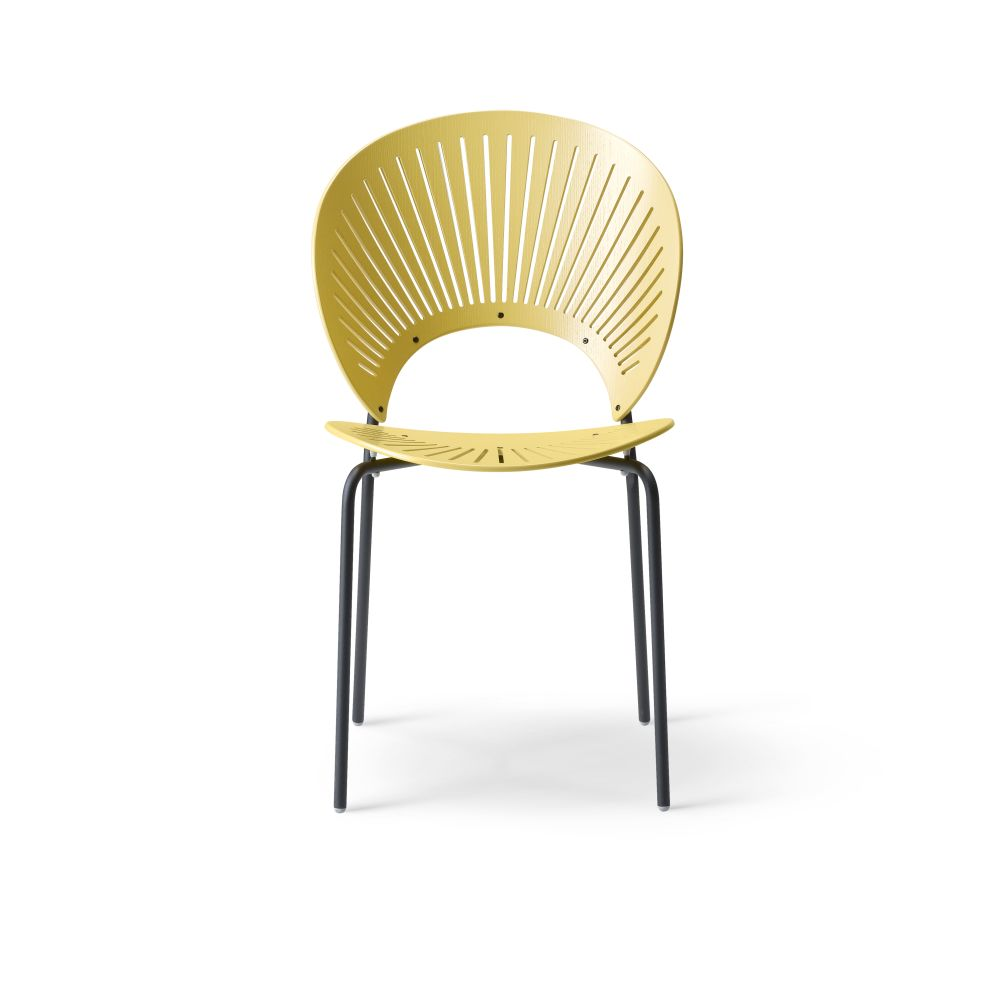 Trinidad bar stool seat upholstered by Fredericia