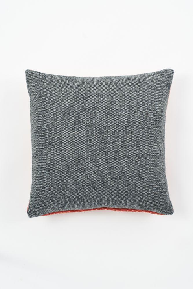 Twin Tone Cushion - Charcoal