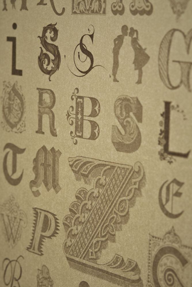Typecast Wallpaper by Barneby Gates
