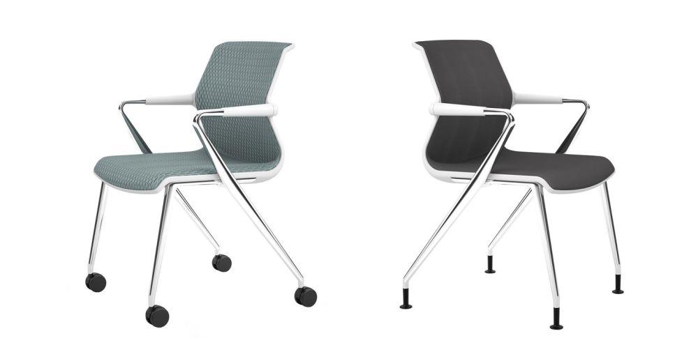 Unix Four-legged base Chair by Vitra