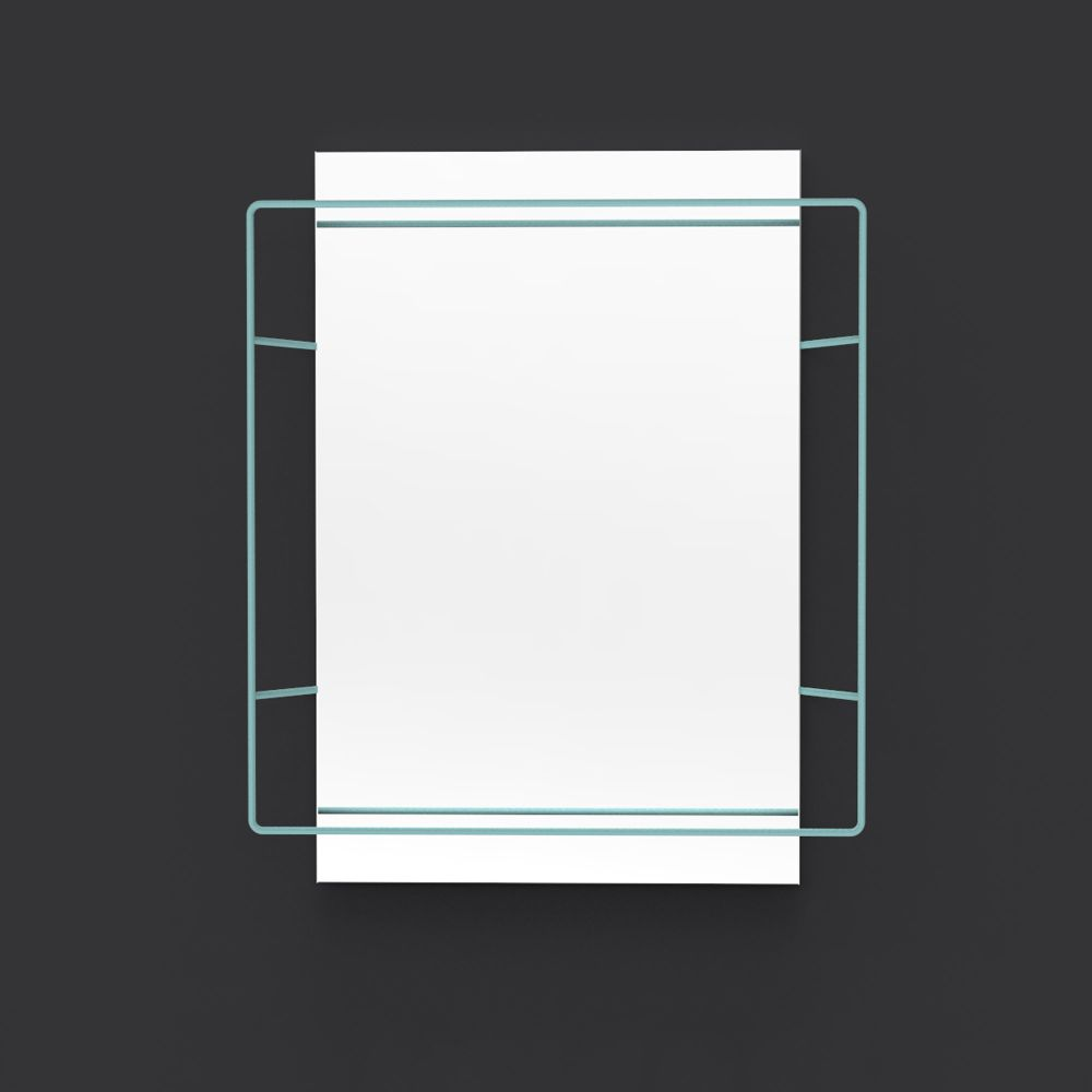 Untitled Rectangular Mirror by UNTITLED STORY