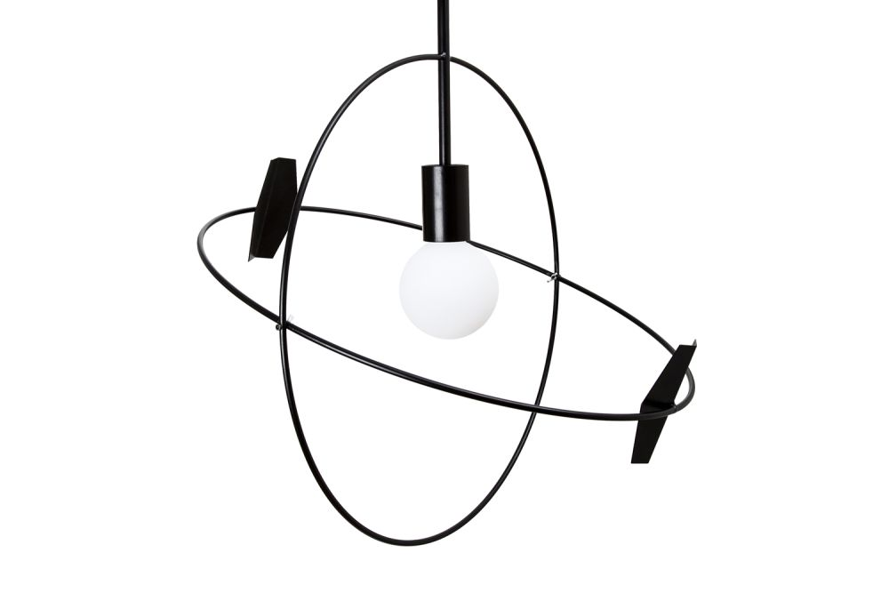 Untitled Sun Pendant Light by UNTITLED STORY