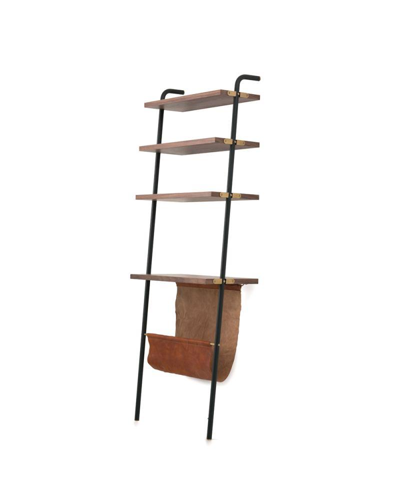 Valet Display Shelves & Magazine Rack by Stellar Works