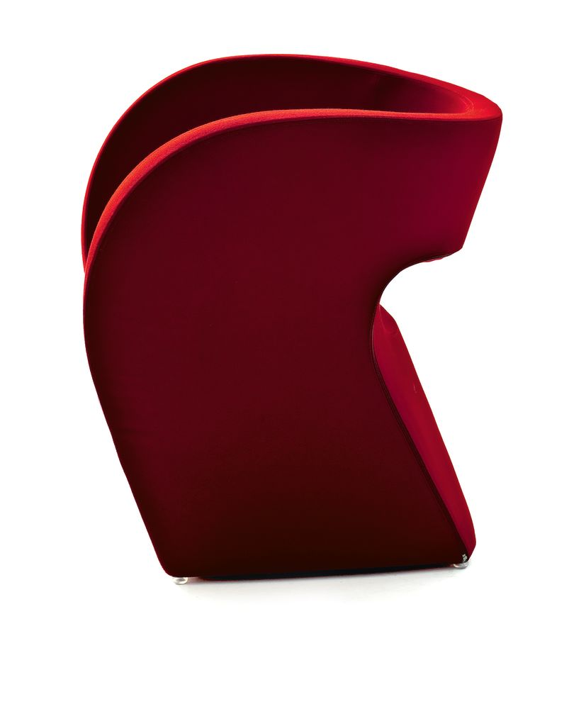 Victoria and Albert Small Armchair by Moroso