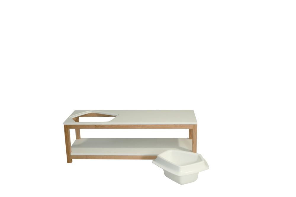 Volcane Banquette Shoe Storage by Bellila