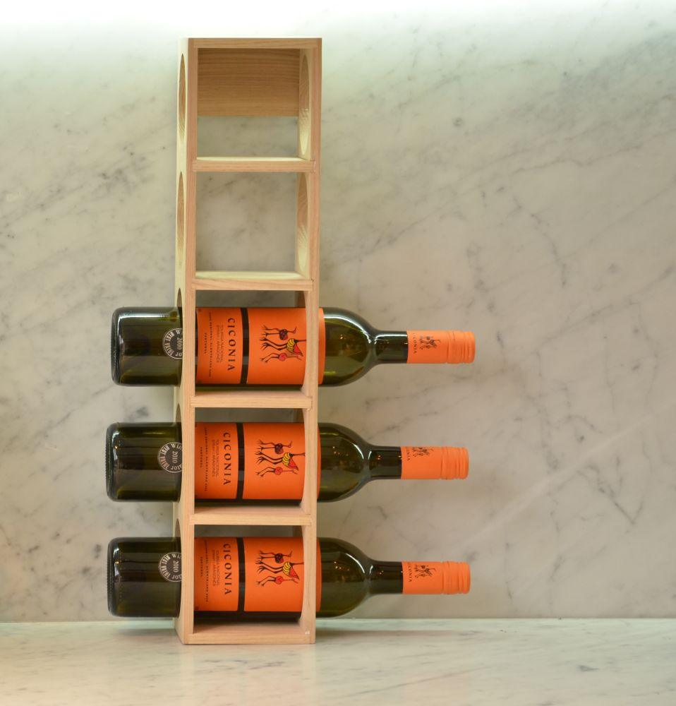 Wine-o Bottle Rack by Wireworks