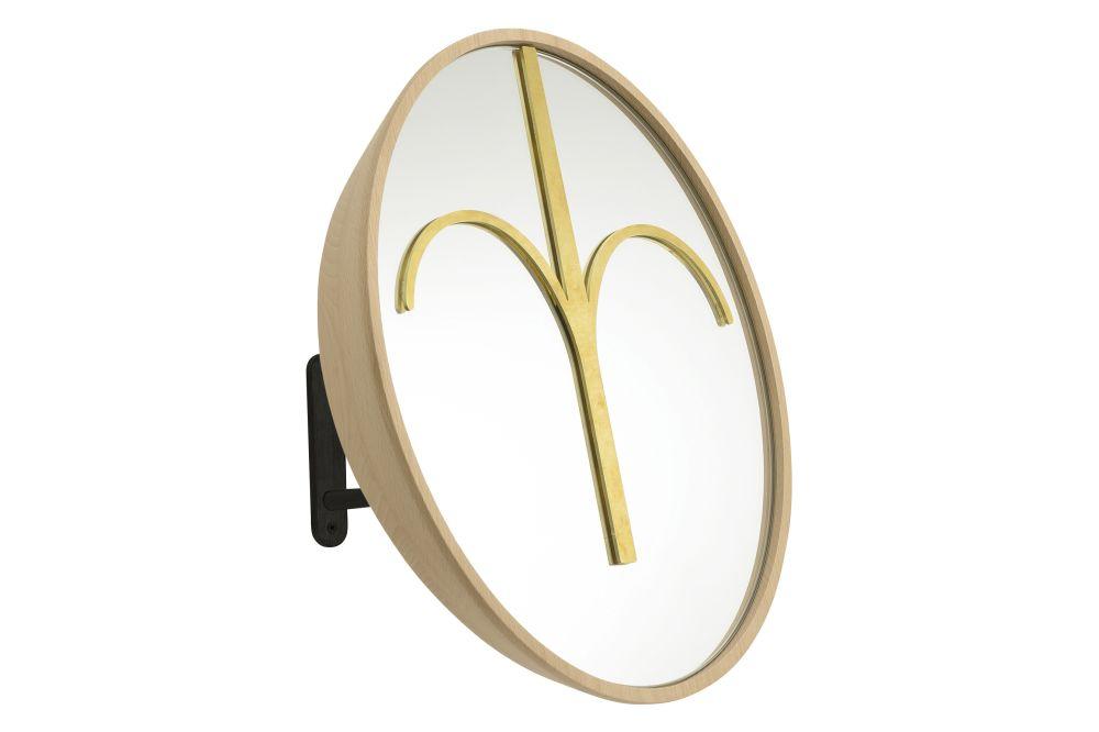 Wise Men Drop Shaped Mirror by Colé Italian Design Label