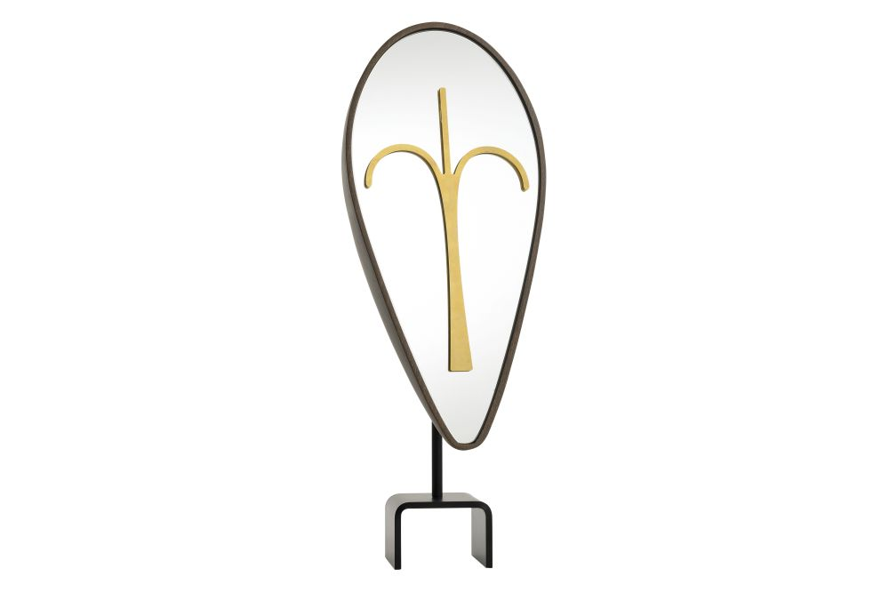 Wise Men Eliptical Mask Mirror by Colé Italian Design Label