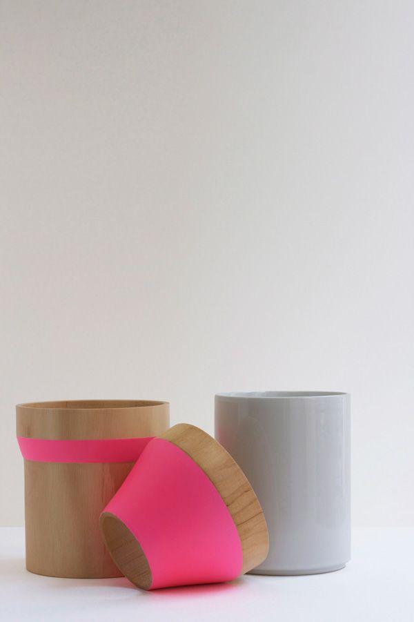 Beautiful Wood U0026 Ceramic Stacking Vase Amazing Ideas