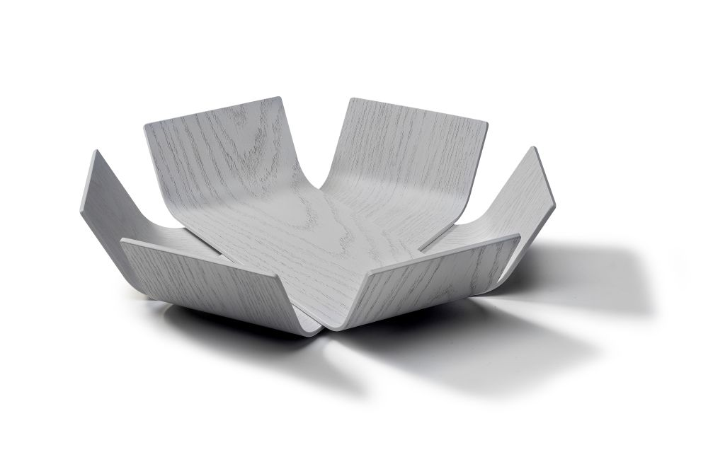 Lily bowl medium, white