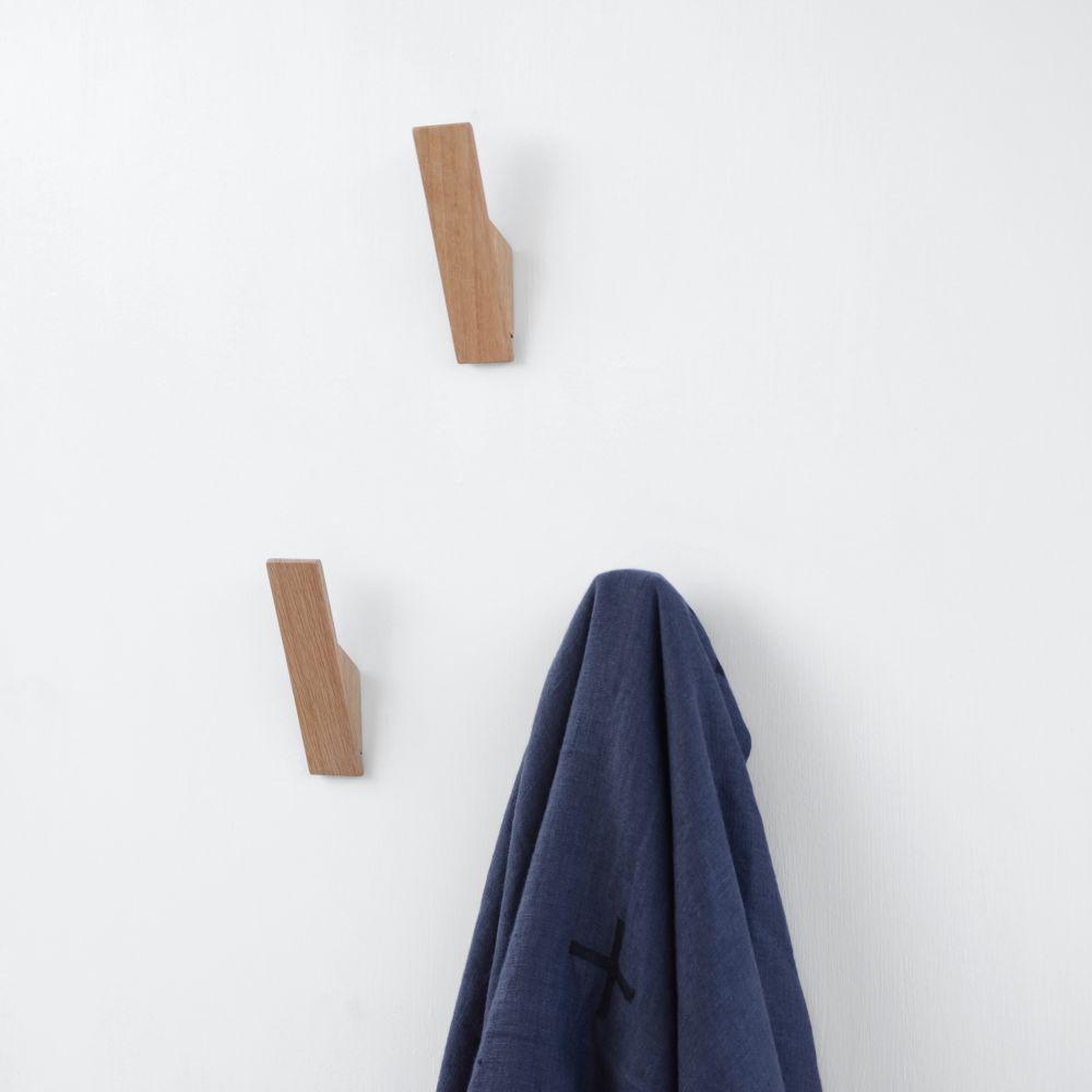 Oak Wall Hook by Utology