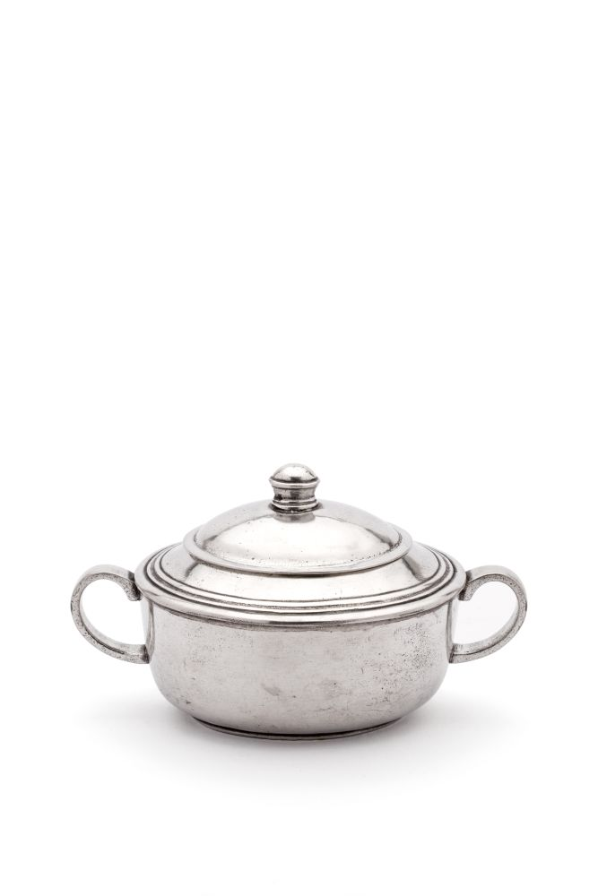 Pewter Sugar Pot by Eligo