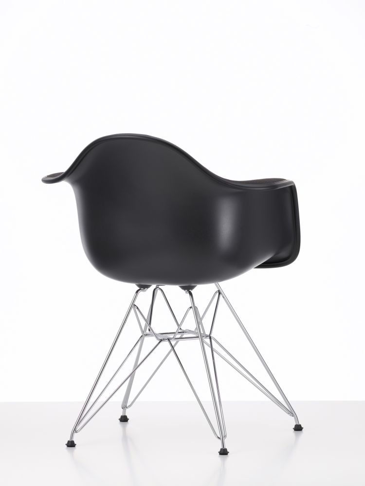 DAR Side Chair with Front Upholstery by Vitra