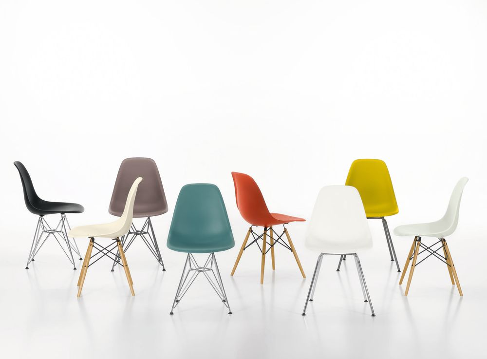 DSW With Seat Upholstery by Vitra