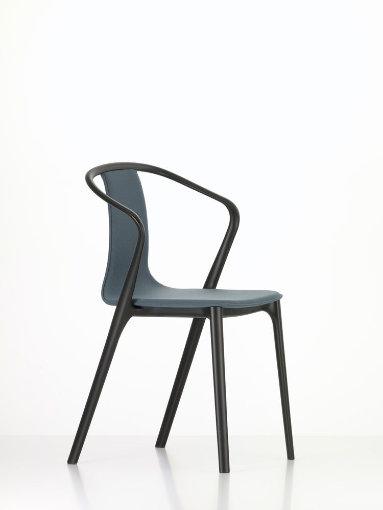 Belleville Armchair with Fabric Upholstery by Vitra
