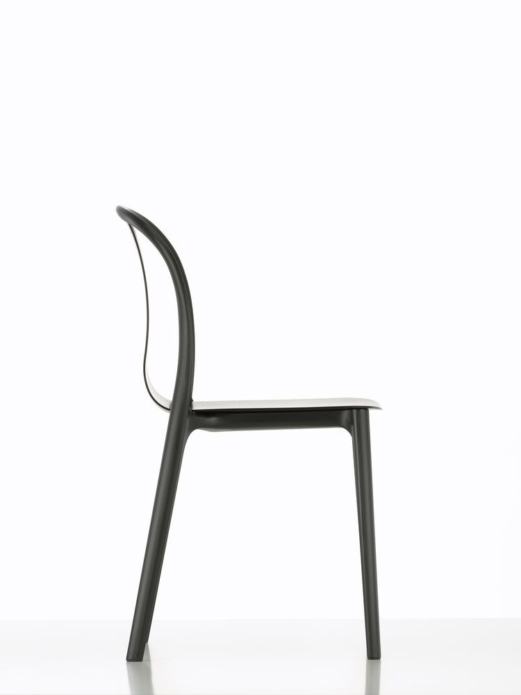 Belleville Chair with Plastic Shell by Vitra