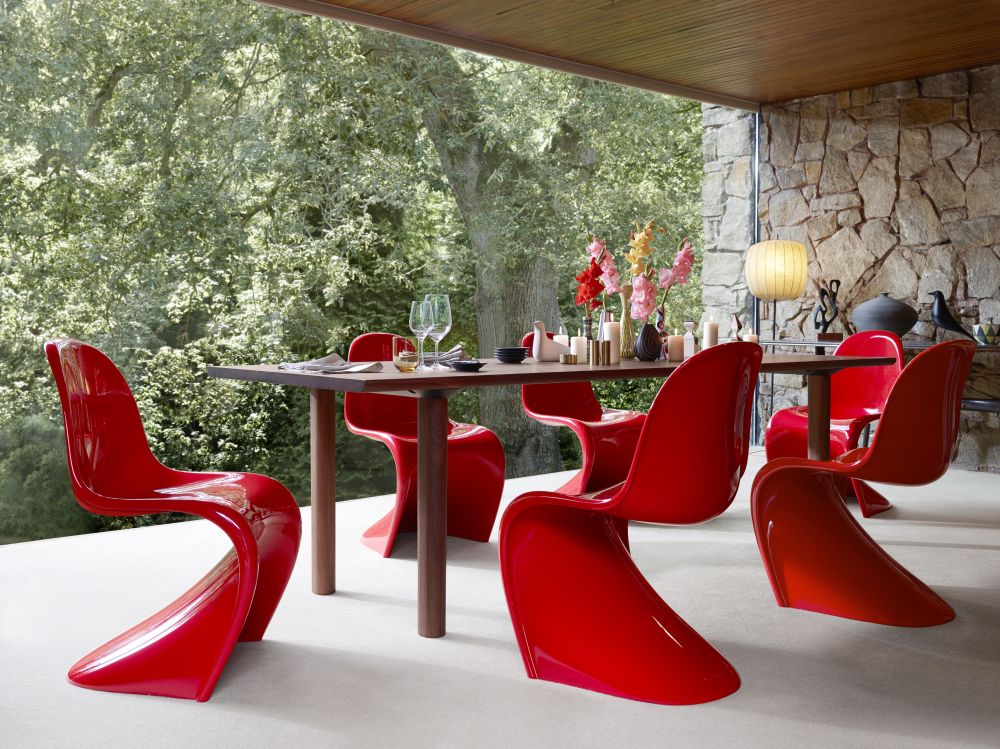 panton chair classic 11 white by verner panton for vitra