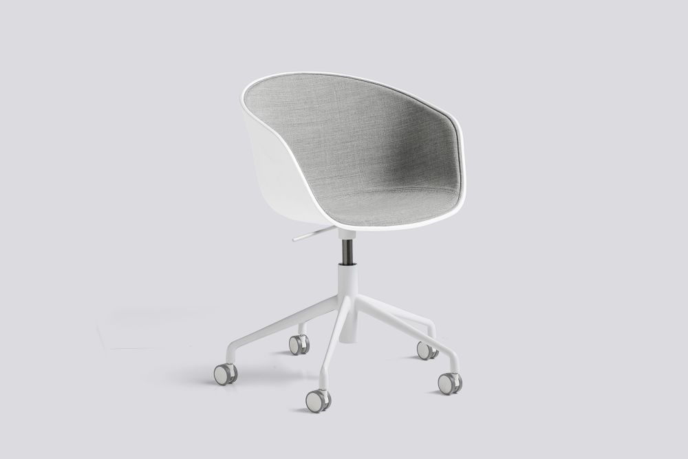 About A Chair AAC52 with front upholstery by Hay