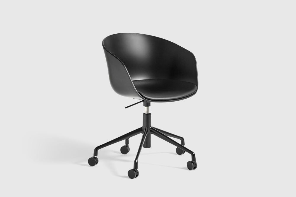 About A Chair AAC52 with fixed seat cushion by Hay