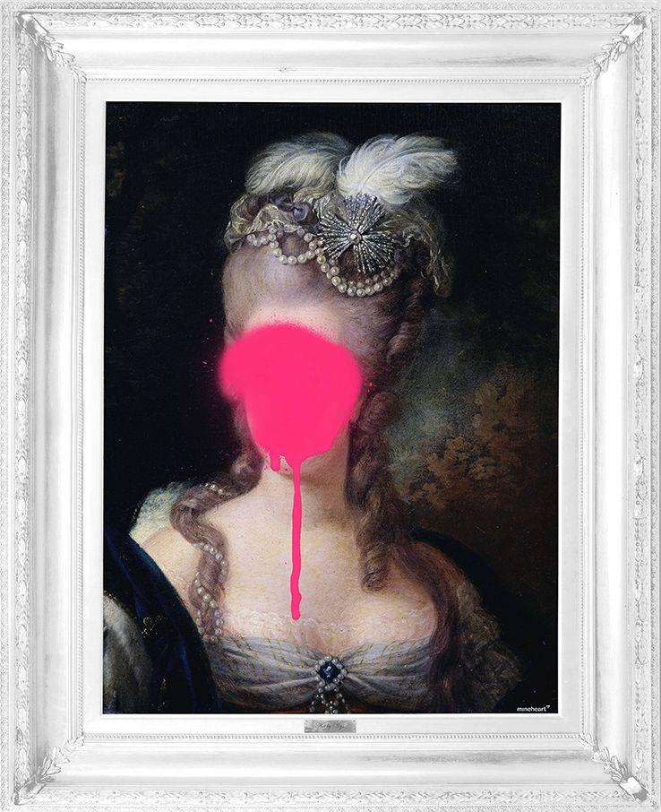 'Madame Blush' Canvas by Mineheart