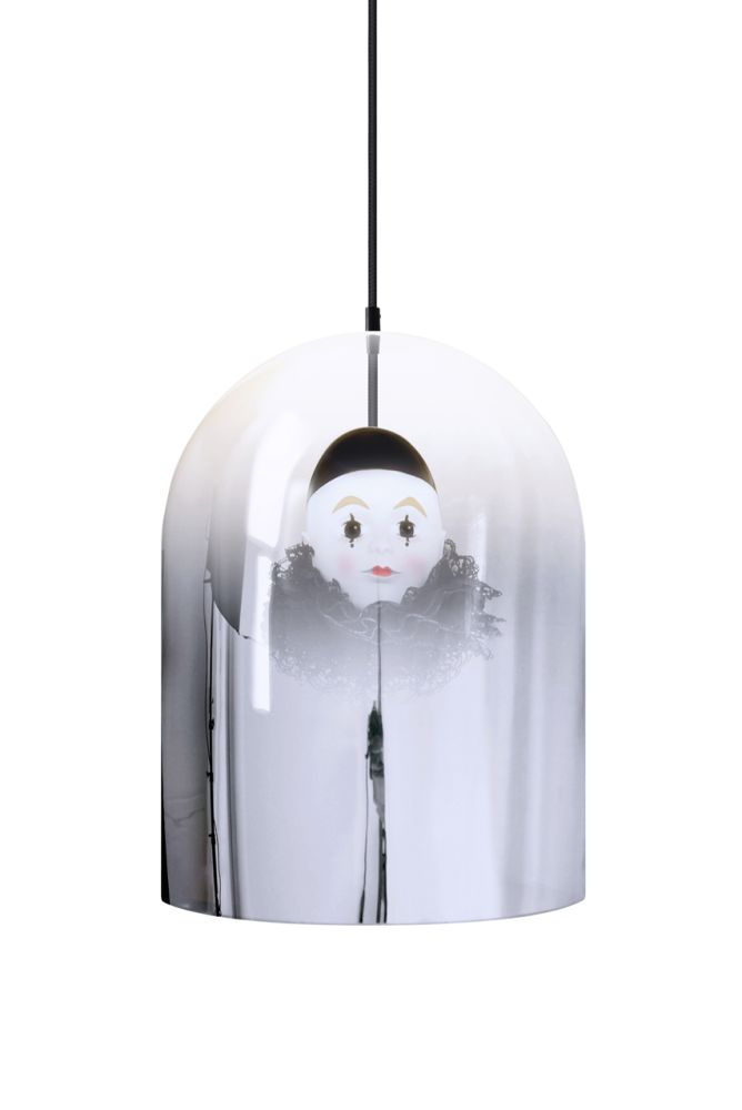 Pierrot Mirror Dome Pendant Lamp by Mineheart