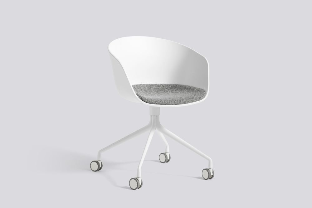 About A Chair AAC24 with fixed seat upholstery by Hay