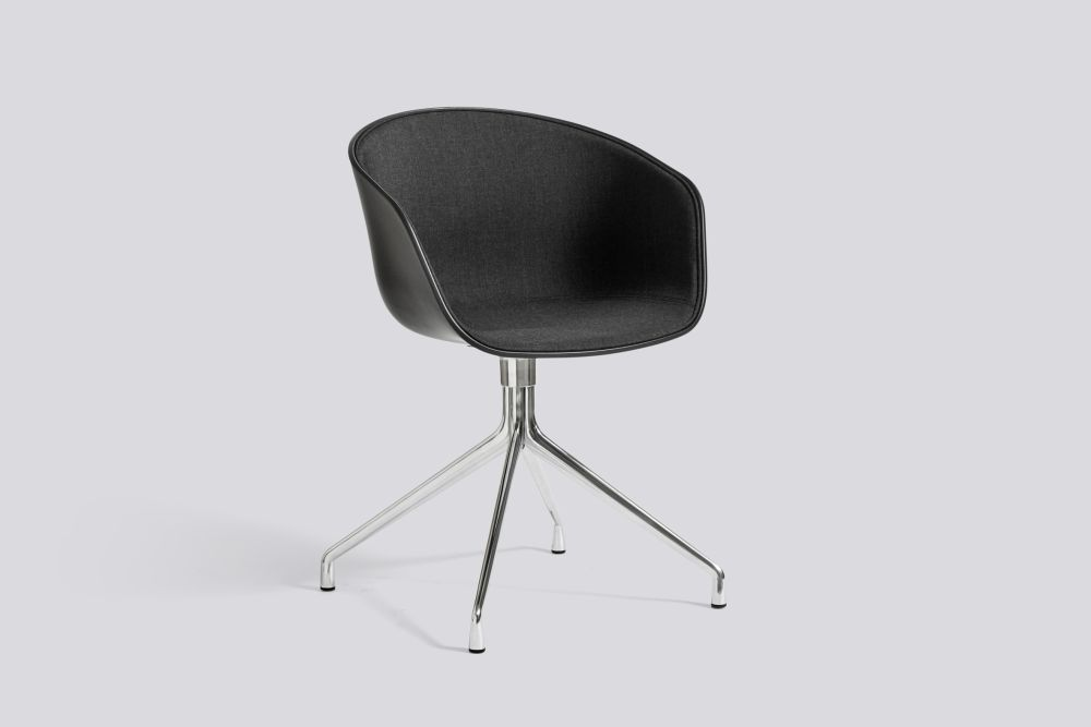 About A Chair AAC20 with front upholstery by Hay