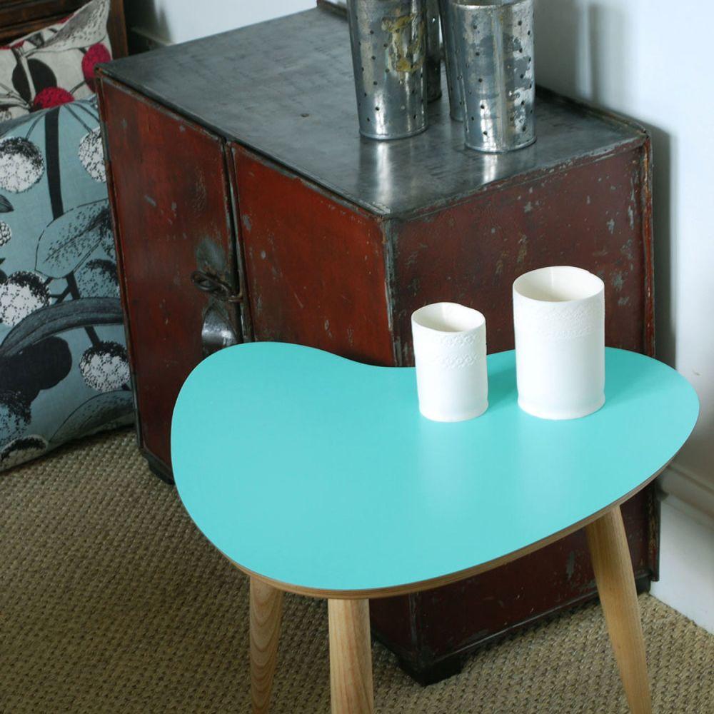 Petal table Aqua