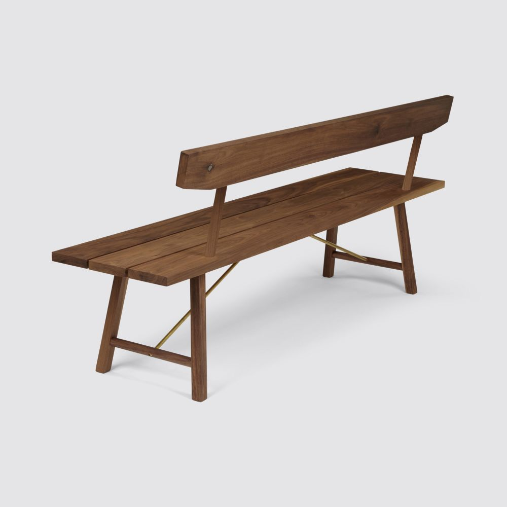 Bench Two with Back by Another Country