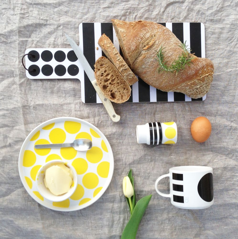 DIDO plate - spots by Camilla Engdahl