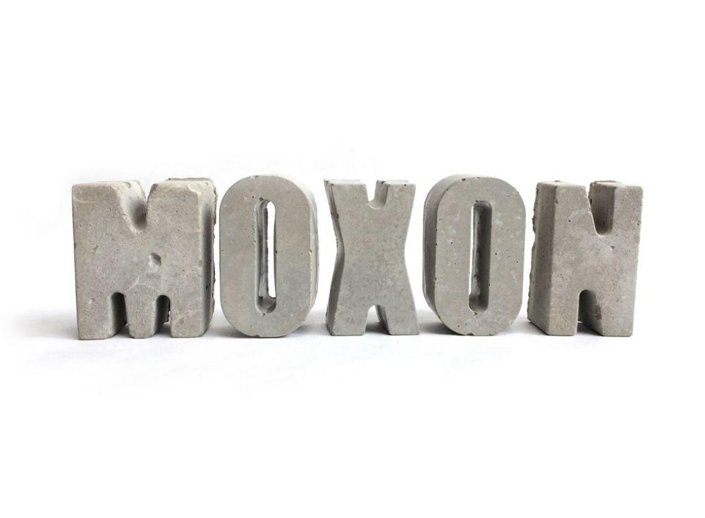 CONCRETE LETTERS by MOXON London