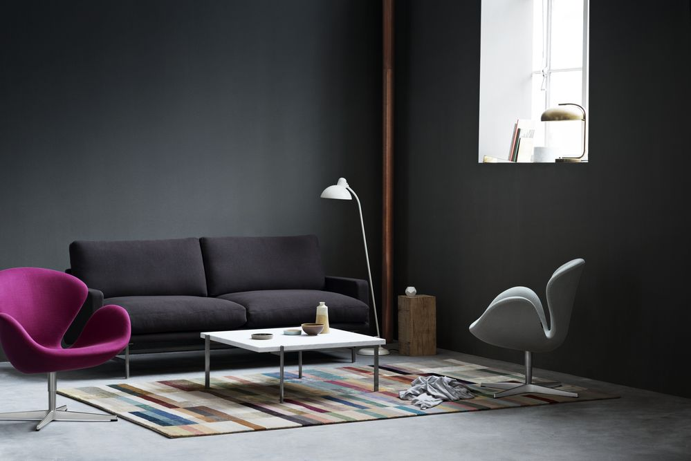 swan easy chair fame 60003 by republic of fritz hansen