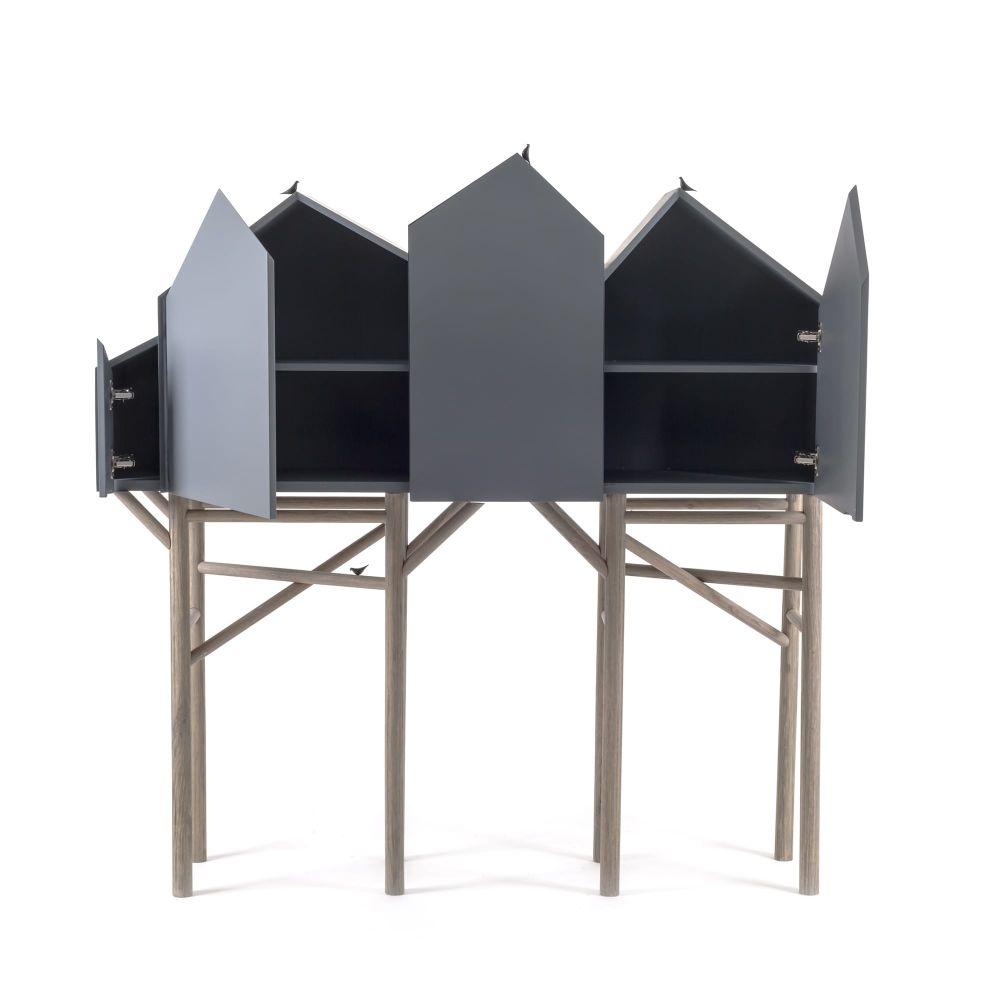 Palafitt 4 doors Sideboard by Seletti