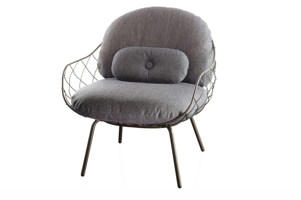 Pina Design piña low chair green by jaime hayón for magis design