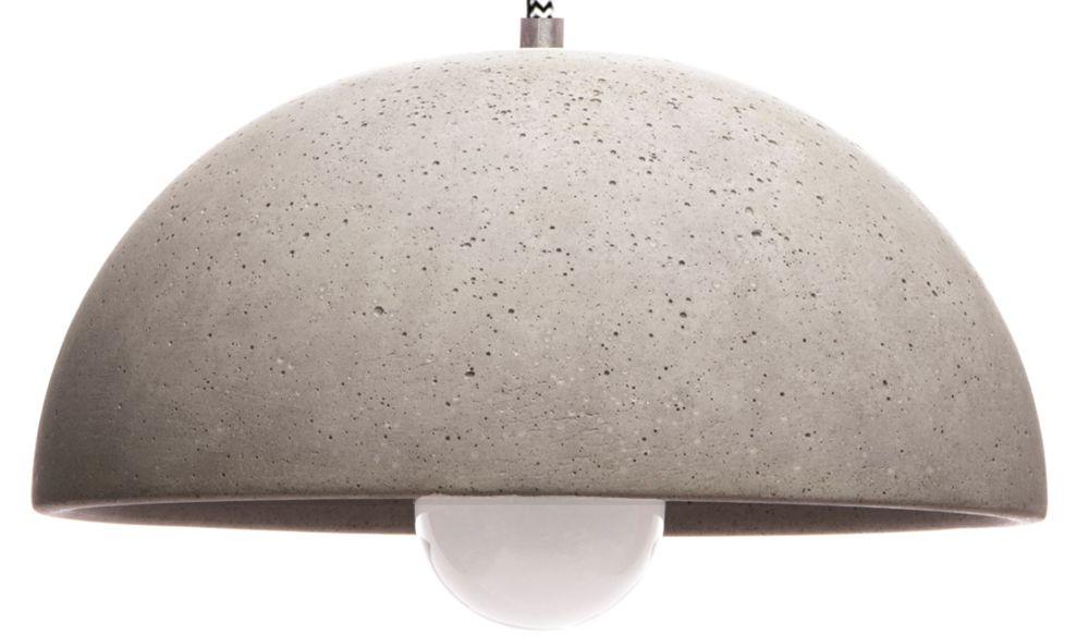 Globus 280 Concrete Pendant Light by URBI ET ORBI