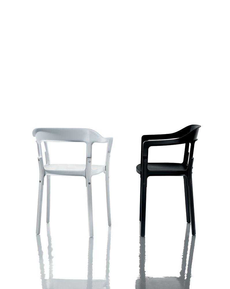 Steelwood Armchair by Magis Design