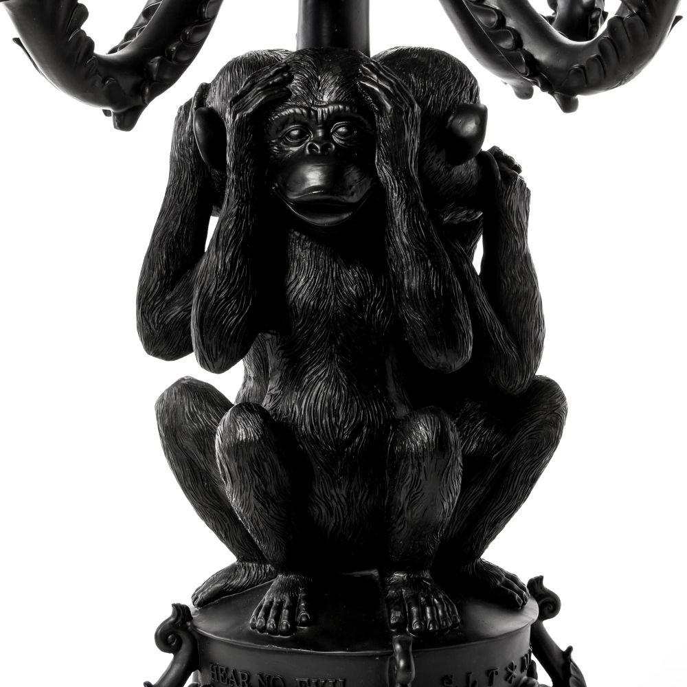 Giant Burlesque 3 Monkeys by Seletti