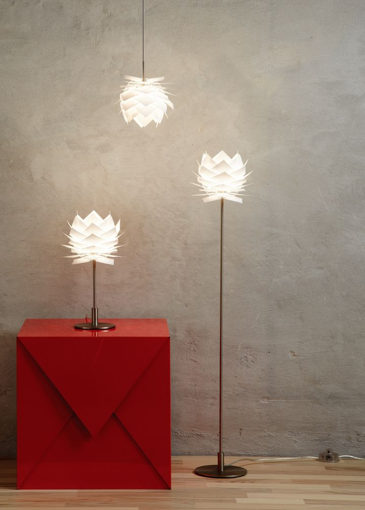 Pineapple xs table lamp white by frank kerdil for dyberg larsen pineapple xs table lamp18cm this lamp is very suitable for a window ledge on a table or a shelf aloadofball Images