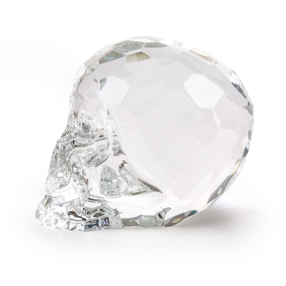 The Hamlet Dilemma Crystal Skull by Seletti
