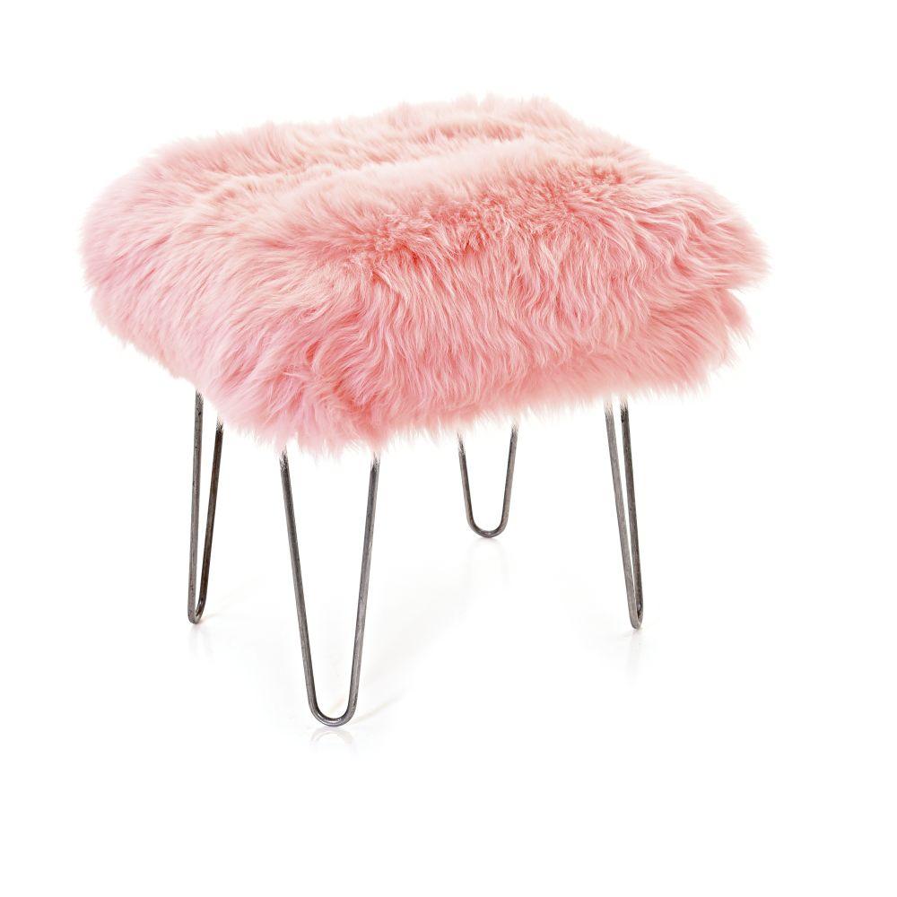 Ffion Baa Stool in baby Pink