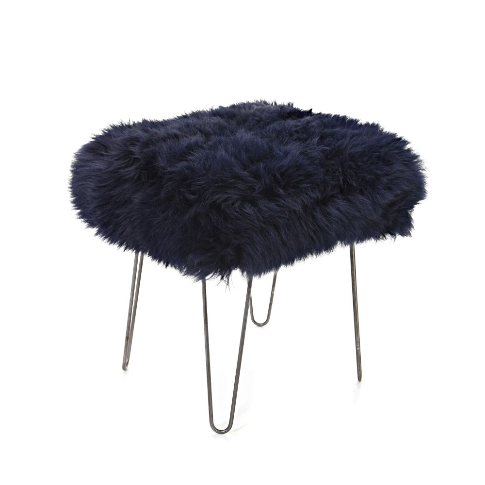 Ffion Sheepskin Footstool  by Baa Stool