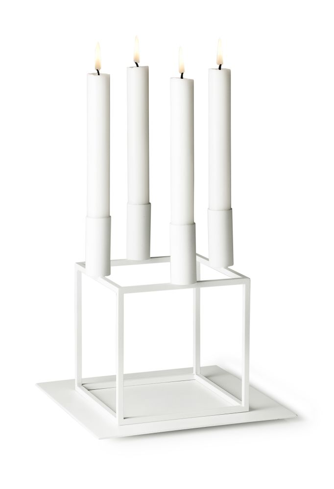 Base for Kubus 4 Candleholder - Set of 2 by by Lassen