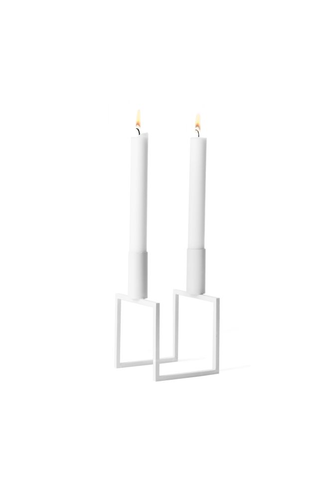 Line Candleholder - Set of 3 by by Lassen