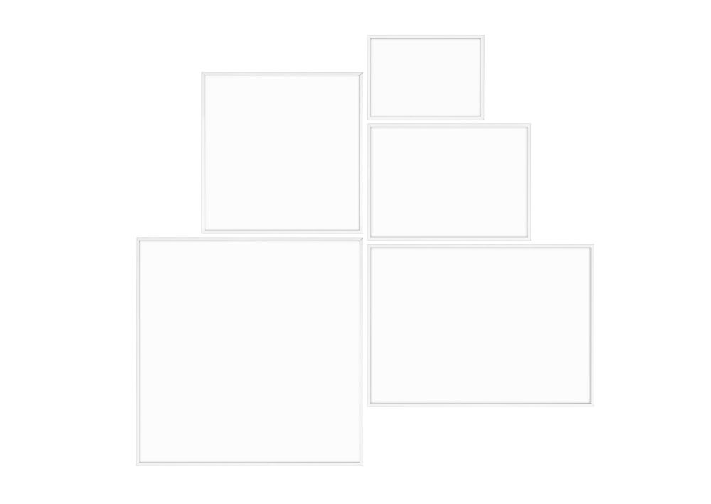 Illustrate Picture Frame, Square - Set of 2 by by Lassen