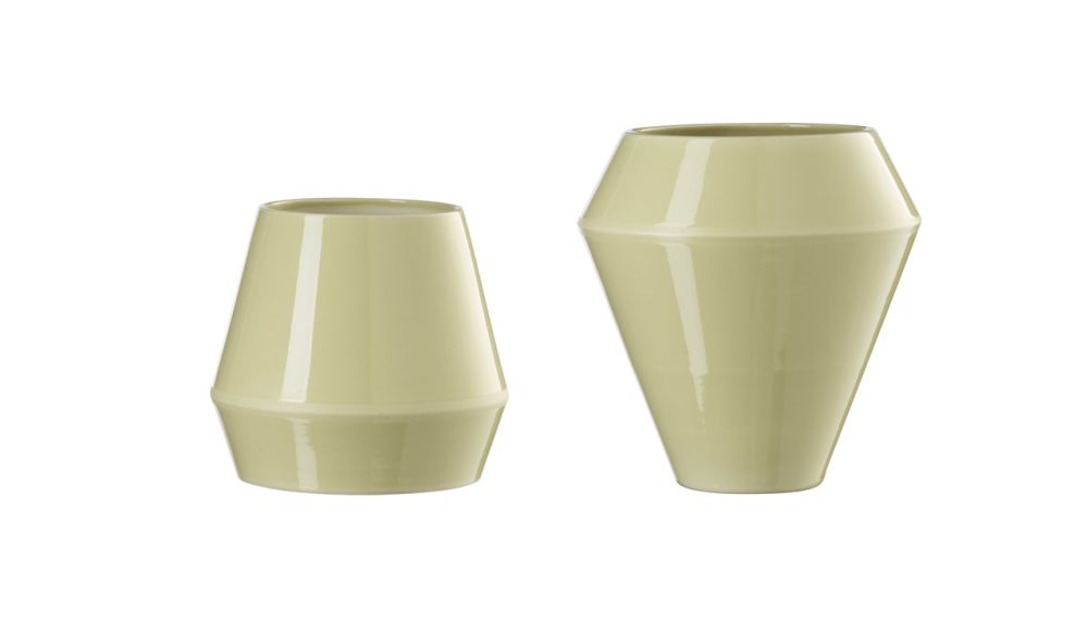 Rimm Vase, Tall - Set of 2 by by Lassen