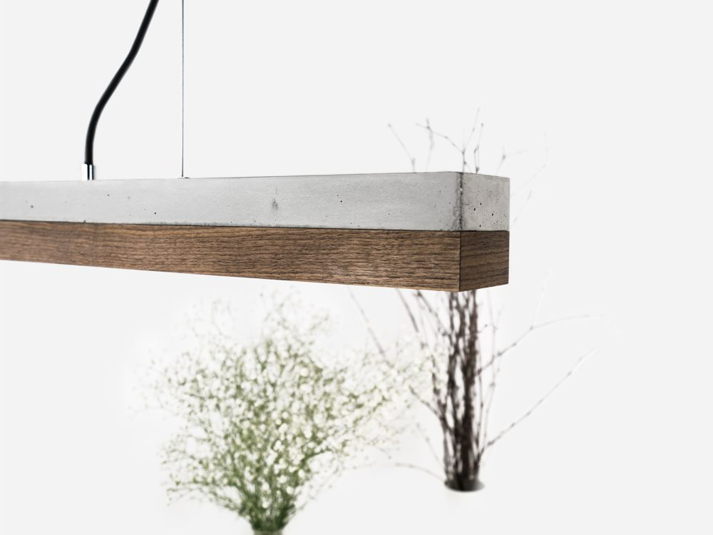 GANTlights [C1]walnut Pendant light