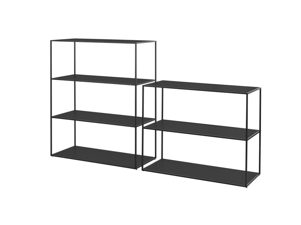 Twin Bookcase - 4 Shelves by by Lassen